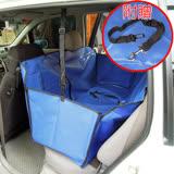 【汽車專用】3D護欄 防水防污墊/寵物墊/車墊 (人寵同座 )WN-3D013