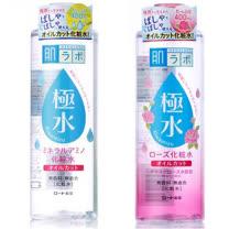 (2入)日本ROHTO極水保濕化妝水【一般/玫瑰】400ml