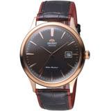 ORIENT 東方錶 DATEⅡ復刻弧形鏡面機械腕錶 FAC08001T