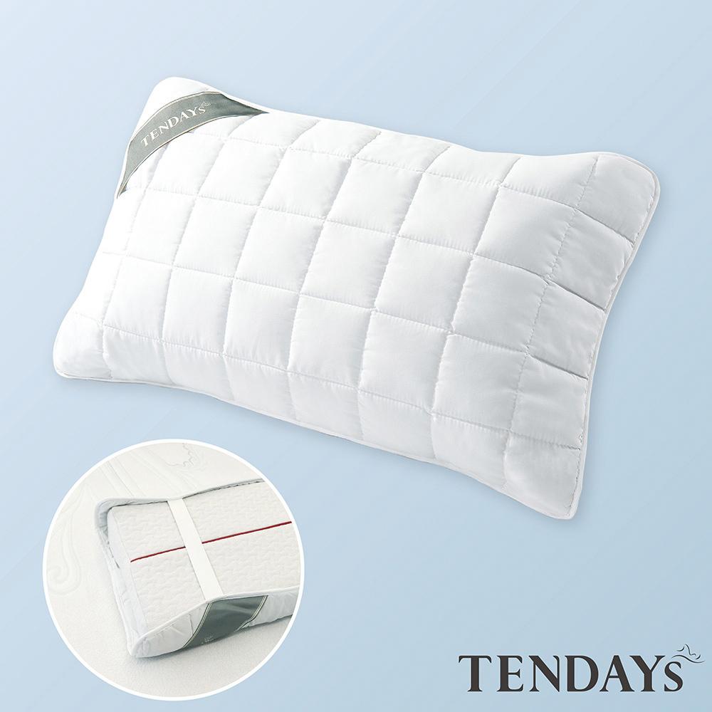 【TENDAYS】備長炭床包型保潔墊 枕頭用(單入)