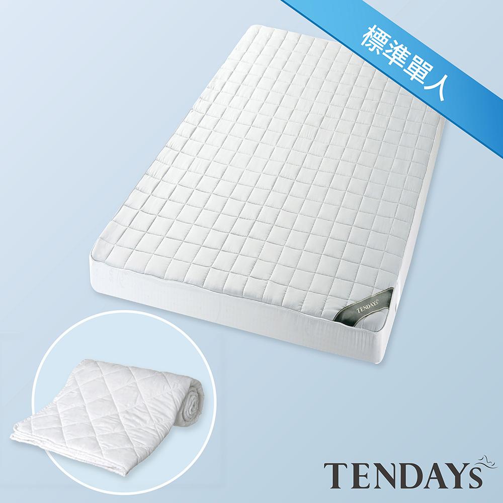 【TENDAYS】備長炭床包型保潔墊(標準單人)