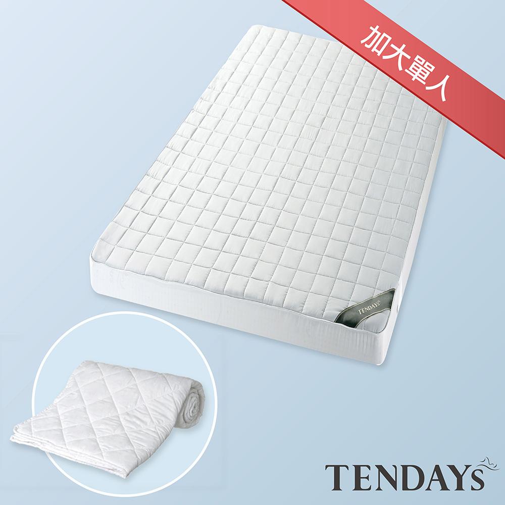 【TENDAYS】備長炭床包型保潔墊(加大單人)