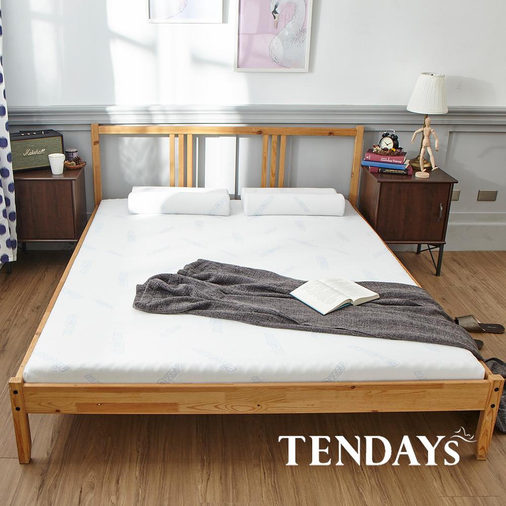 【TENDAYS】DISCOVERY柔眠床墊(晨曦白)7尺 8.5cm厚記憶床(特規雙人)