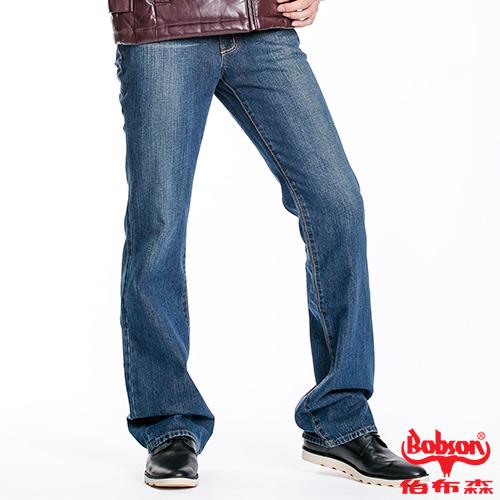 BOBSON 男款低腰喇叭褲 1723-53