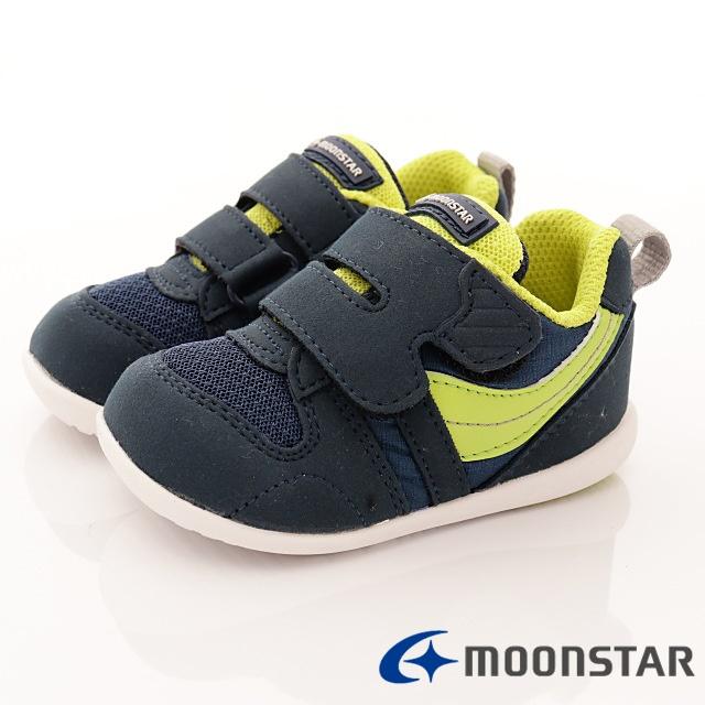 日本Carrot機能童鞋-HII系列機能款(B77S5深藍-12.5-16cm)