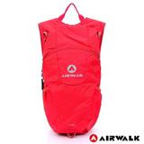 AIRWALK -熱情仲夏休閒後背包-紅色