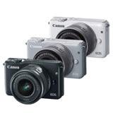 Canon EOS M10 EF-M 15-45mm 單鏡組 (公司貨)--送吹球清潔組+UV保護鏡