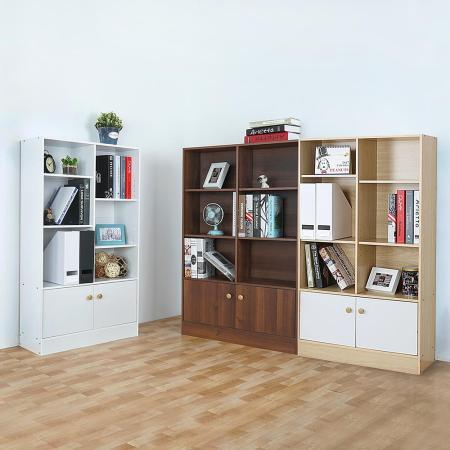 Homelike 迪普八格二門書櫃