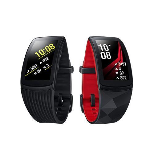 Samsung Gear Fit2 Pro 智慧手環(長版) SM-R365 (黑/紅)