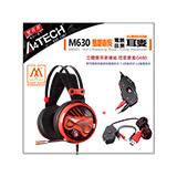 【Bloody】雙飛燕 M630魔磁雙核電音耳機 –買1送2 贈控音寶盒 G480 再贈 控音寶典