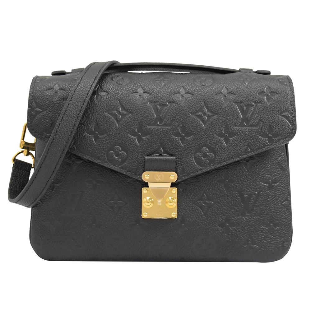 Louis Vuitton LV  M41487 Pochette Métis 經典花紋皮革壓紋手提兩用包.現貨