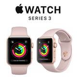 Apple Watch Series 3 GPS 38mm 金色鋁金屬錶殼搭配粉沙色運動型錶帶 MQKW2TA/A