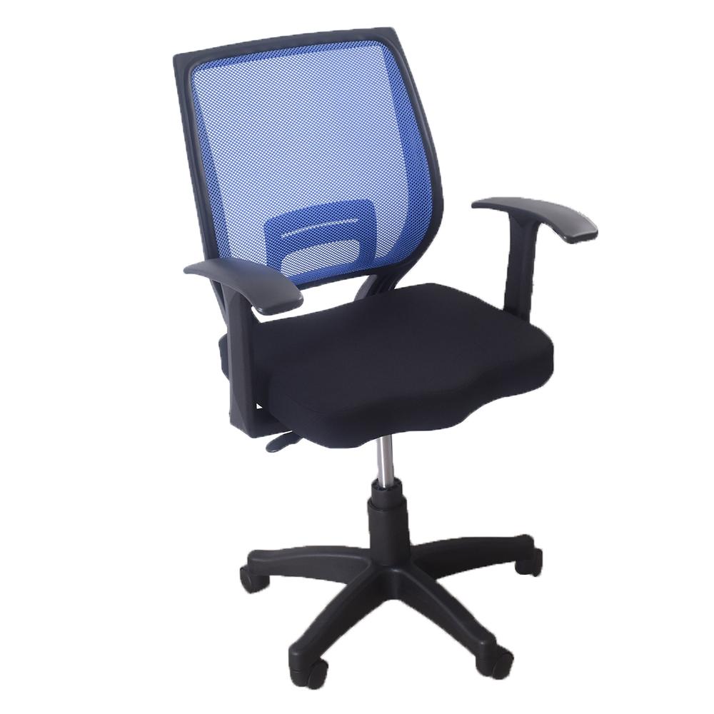 凱堡 凱恩T型扶手透氣電腦椅辦公椅