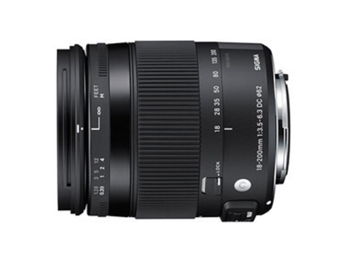 SIGMA 18-200mm F3.5-6.3 DC MACRO OS HSM Contemporary (恆伸公司貨)