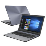 ASUS 華碩X542UQ-0051B7200U 15吋FHD/i5-7200U/1TB+128G/GT940MX 2G獨顯/Win10筆電(灰)