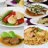 【台北】慶泰大飯店《金滿廳中式料理》-精緻海鮮美饌雙人套餐