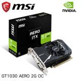MSI 微星 GeForce GT1030 AERO 2G OC 顯示卡