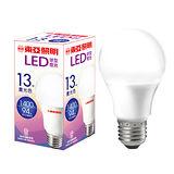 東亞 LED球型燈泡-晝光色(13W)