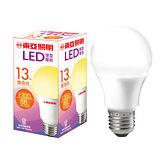 東亞 LED球型燈泡-燈泡色(13W)