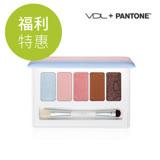 【NG品】VDL X Pantone 夢幻棉花糖眼影盤mini (外包裝褪色)