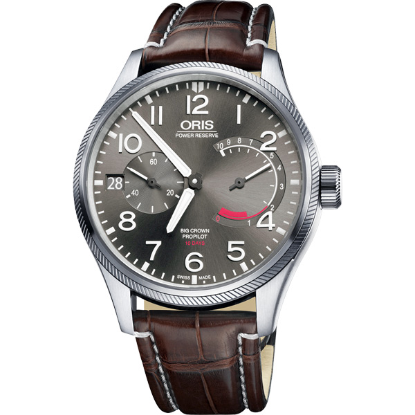 Oris 豪利時 大錶冠 ProPilot Calibre 111手動上鍊腕錶~44mm