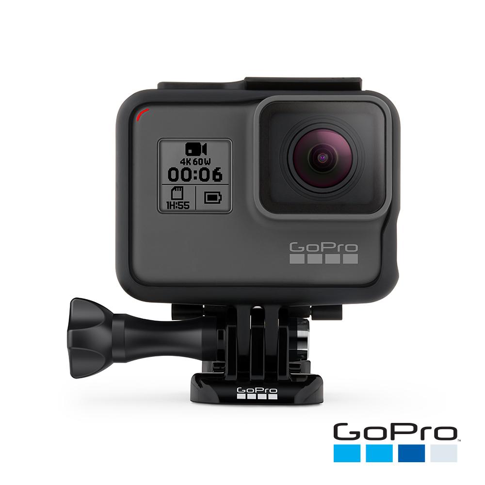 【GoPro】HERO6 Black運動攝影機CHDHX-601(忠欣公司貨)