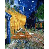ArtLife藝術生活【DT083】梵谷 夜晚露天咖啡座 DIY 數字 油畫 彩繪 40*50cm