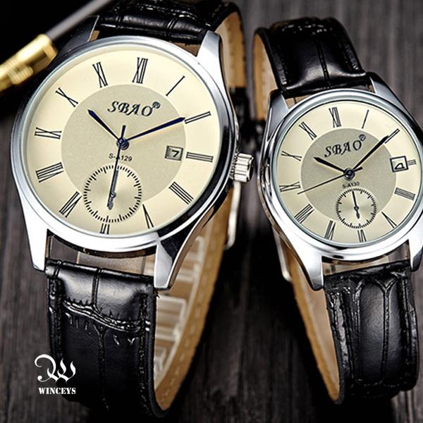 WINCEYS  帆布皮帶石英錶 4件