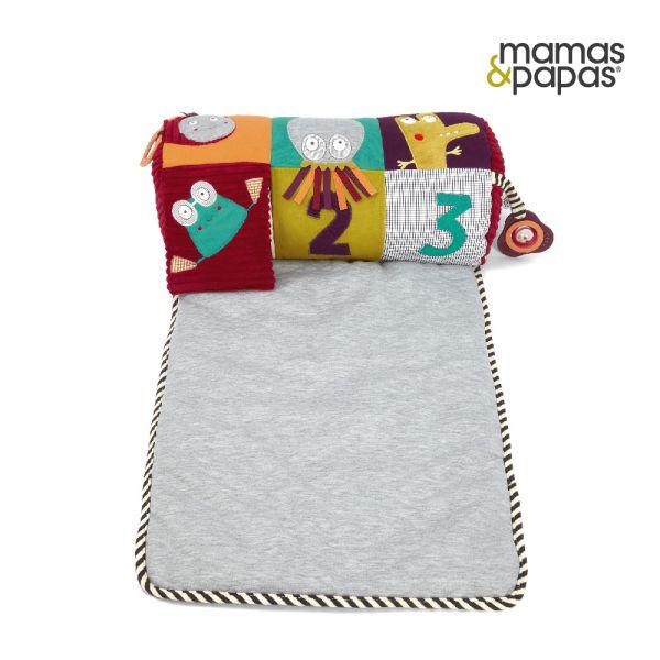 【Mamas & Papas】肚肚時間-數字遊戲枕墊