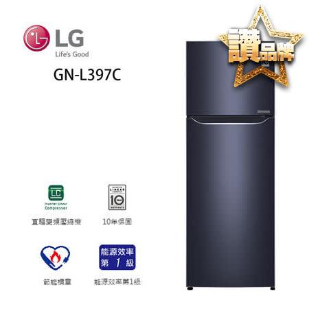 LG 樂金 315公升一級變頻雙門冰箱