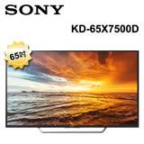 《福利品》SONY 65吋 4K WiFi 液晶電視 KD-65X7500D