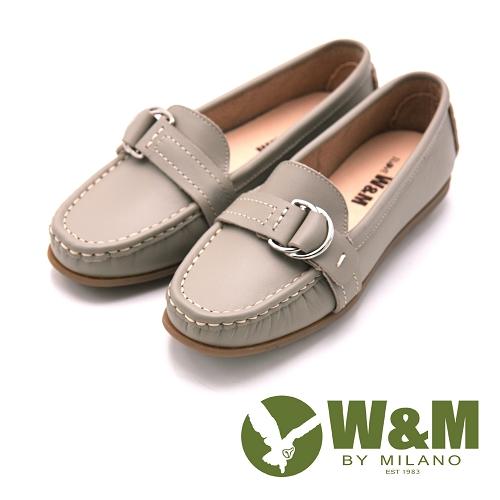 W&M  可水洗平底輕巧休閒鞋