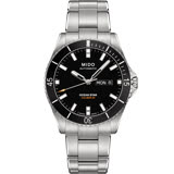MIDO 美度 OCEAN STAR 海洋之星200米潛水機械錶(黑/42mm) M0264301105100
