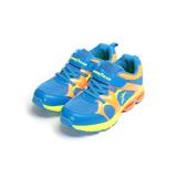(中大童) GOODYEAR 緩震彈力弓運動鞋 藍橘 GAKR78606 童鞋 鞋全家福