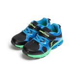 (中大童) GOODYEAR 緩震彈力弓運動鞋 黑藍 GAKR78600 童鞋 鞋全家福