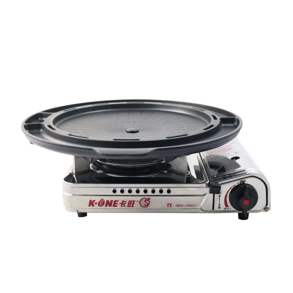 韓國suntouch 韓式多功能烤盤ST-1600P+K-ONE卡旺-遠紅外線瓦斯爐K1-A013SC