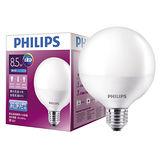 飛利浦 Globe LED燈泡-白色(8.5W)