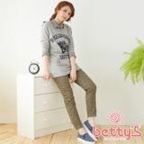 betty's貝蒂思 滿版碎花彈性長褲(綠色)
