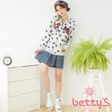 betty's貝蒂思 蝴蝶結造型口袋牛仔短裙(藍色)
