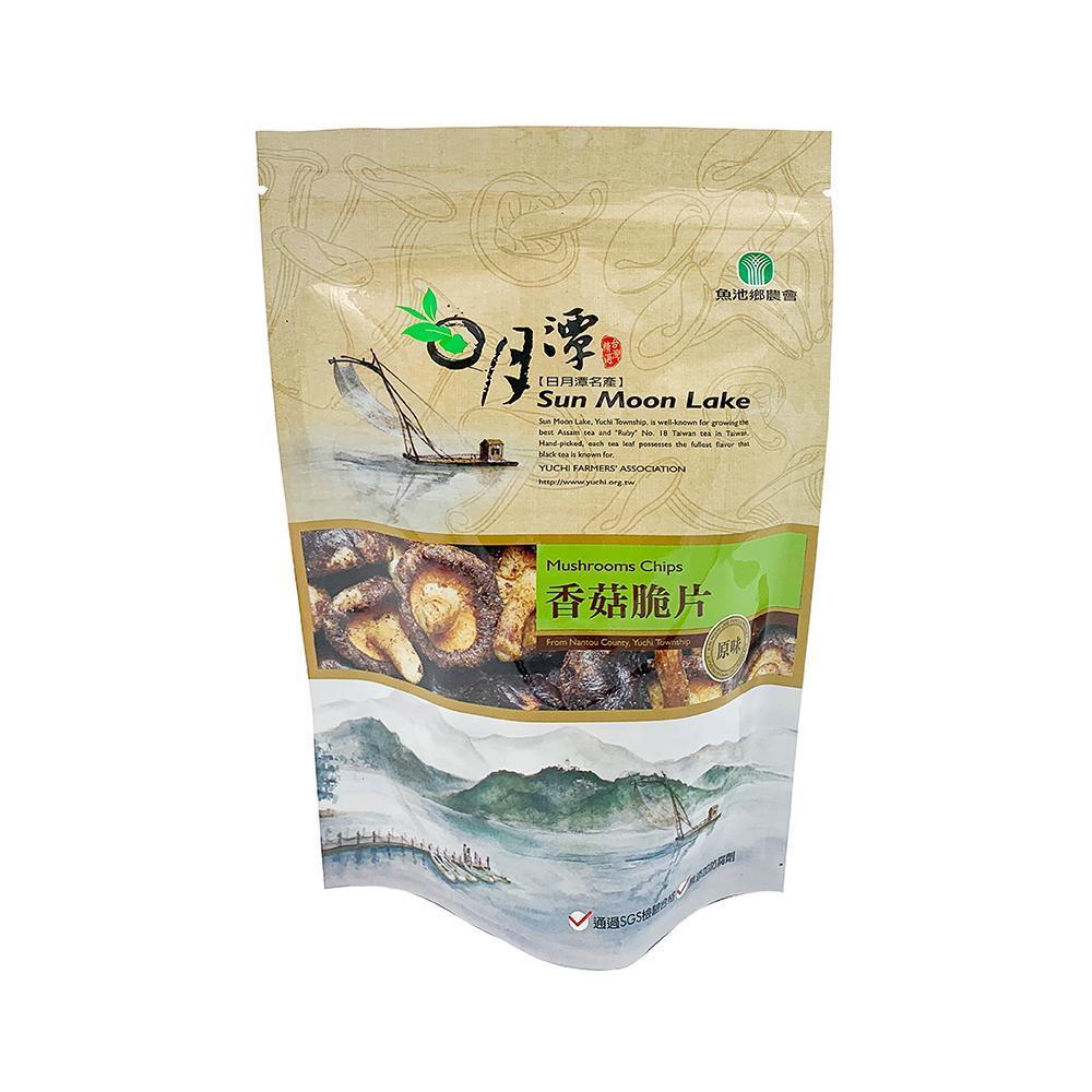 【魚池鄉農會】香菇脆片-原味(90g/包) (任選)