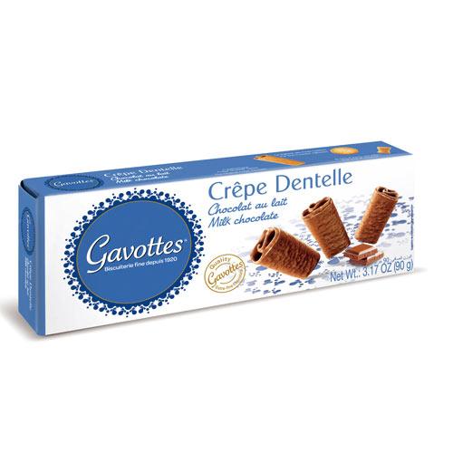 歌法蒂牛奶巧克力薄餅90g