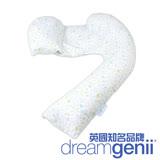 英國Dreamgenii 多功能孕婦枕/哺乳枕/側睡枕(綠野花園)