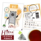 紅大腕台灣原生三角立體茶包-靈感(日月潭大葉阿薩姆紅茶) 1入