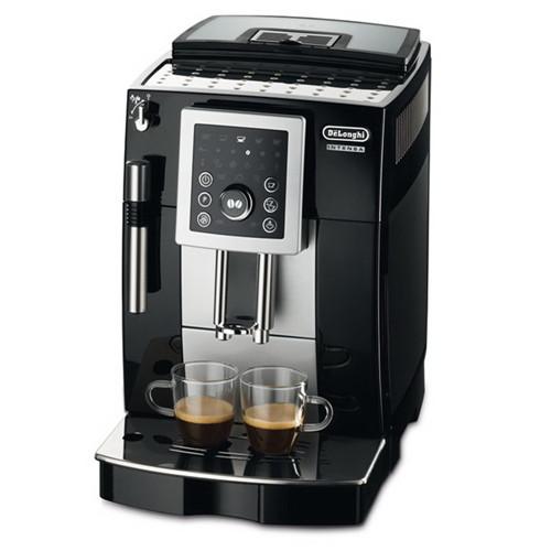 【Delonghi】「加贈WAF-V100TW直立式鬆餅機」睿緻型全自動義式咖啡機(ECAM23.210.B)