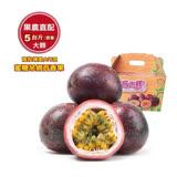 【果之蔬】埔里鮮採牛奶百香果(5斤±10%含箱重)