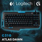 羅技 Logitech G310 ATLAS DAWN 精簡型機械遊戲鍵盤