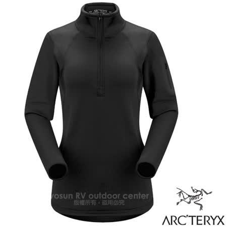 加拿大 ARC'TERYX 始祖鳥 女款 半開襟刷毛套頭衫