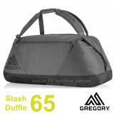 【美國 GREGORY】新款 Stash Duffel 65L 超輕多功能耐磨三用裝備袋(後背包/手提袋)旅行袋.行李袋/適自助旅行.出國洽公/65900 秋日紅