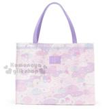 〔小禮堂〕雙子星 防水手提袋《L.紫.雲堆.彩虹.滿版》防潑水加工