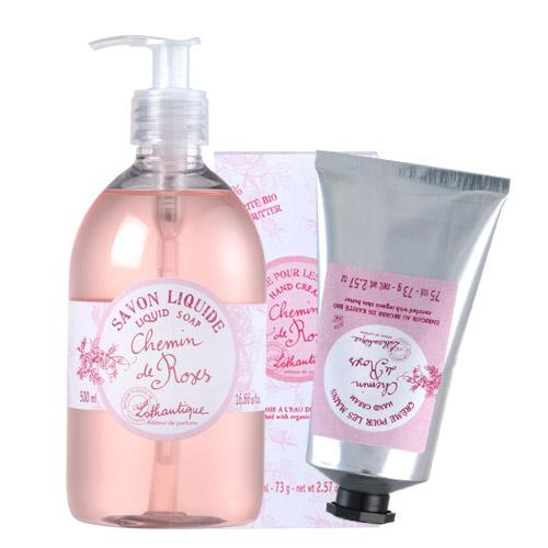 LOTHANTIQUE 蘿丹緹  玫瑰之路 香氛沐浴護手組